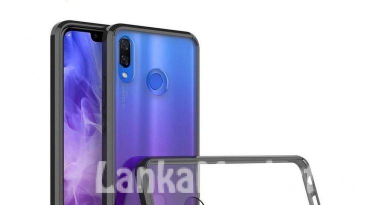 Huawei Nova 3i Anti Burst Back Cover / Anti Burst Back Case / Clear Back Cover / Transparent Back Cover / Silicone Back Cover