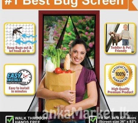 Magic Mesh – Anti Mosquito Magnetic Fastening Magic Mesh Door Curtain
