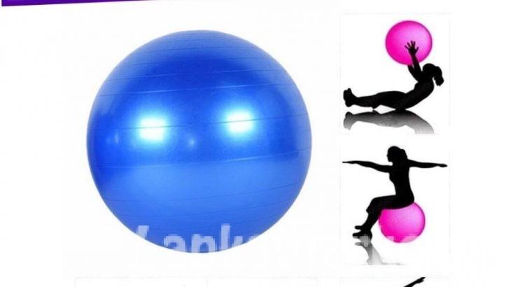 Gym Ball / Yoga Ball – (Aerobic Ball) – 75 Cm – Multicolor