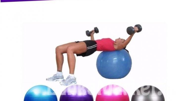 Gym Ball / Yoga Ball – (Aerobic Ball) – 85 Cm – Multicolor