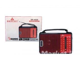 Bright 4 bands Radio / Radio / Bright Portable Radio – 4 bands