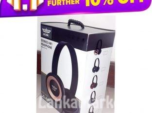 LELISU Wired headphone with mic/ LELISU LS-811 WIRED HEADPHONE WITH MIC