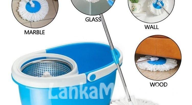 Magic 360° Spin Mop & Bucket