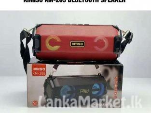 Bluetooth Speaker /  KIMISO KM-205 Portable Bass Speaker With Strap Free /  KIMISO Portable Bluetooth Speaker