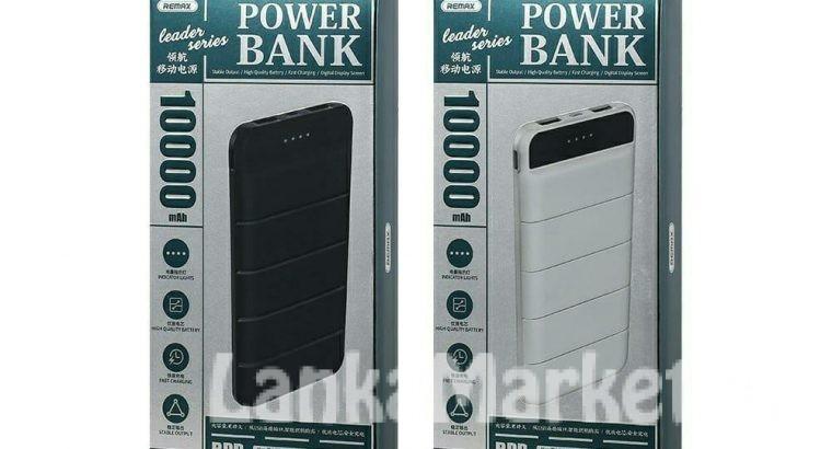 Power Banks / Remax Power Bank / Remax Leader Series Power Bank – 10000mAh Power Bank