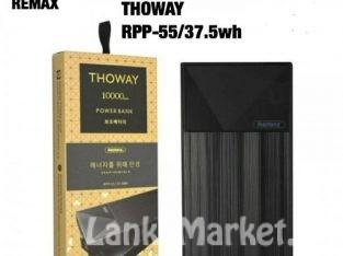 Power Bank 10,000 mAh – Remax Thoway Power Bank 10000 mAh