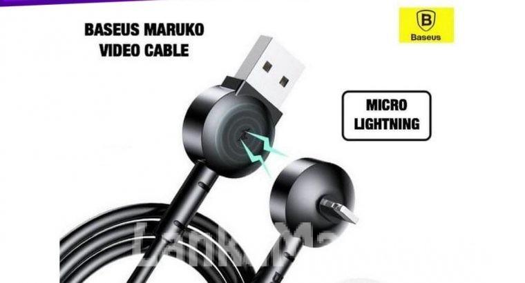 Video Cable / Maruko Video Cable / Baseus Maruko Video Cable Micro Lightning