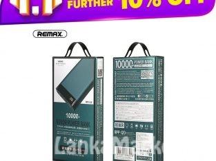 Power Bank 10000mah – Remax Renor Power Bank 10000mah