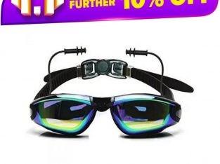 Swimming Goggles with earplug / Swimming Goggles with earplug UV Shield anti-fog