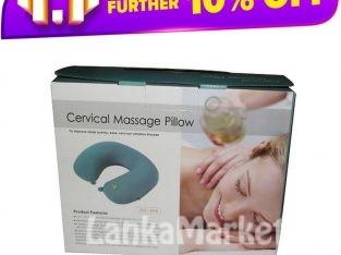 Cervical Massage Pillow / Massager Neck Pillow / Portable Electric Travel Neck Pillow and Cervical Massager (Neck Massager)