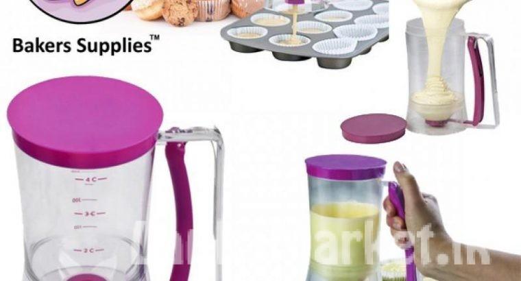 Batter Dispensar – Bakers Supplies – Cake, Cupcake, Pancake, Muffins, Dough cream Maker