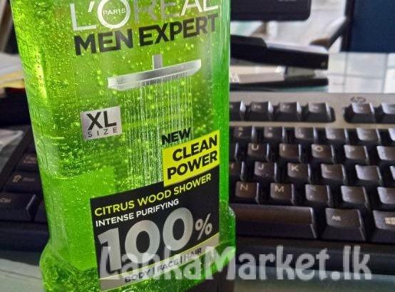 L'OREAL MEN EXPERT SHOWER GEL CLEAN POWER 300ML
