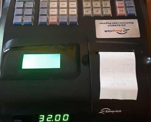 Zonerich Cash Register 2000 Items