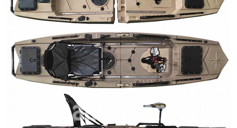 Fin Drive Kayak – Miraj-95