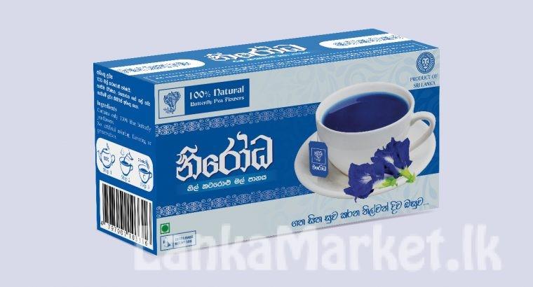 Nirodha Blue Butterfly Pea Tea ( Nil Katarolu Tea)