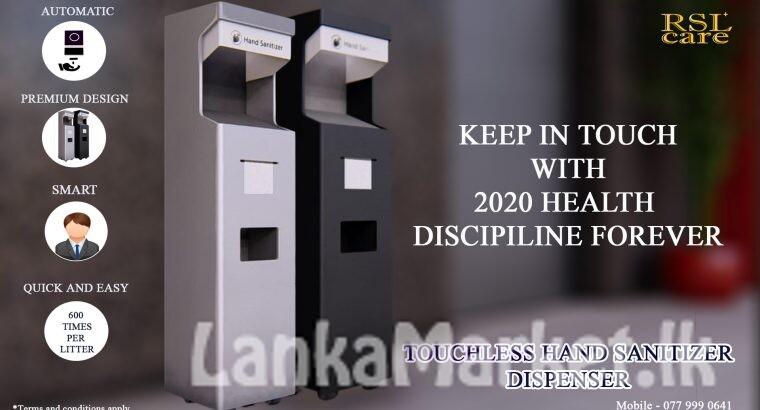 Automated Hand Sanitizer Machine 2021