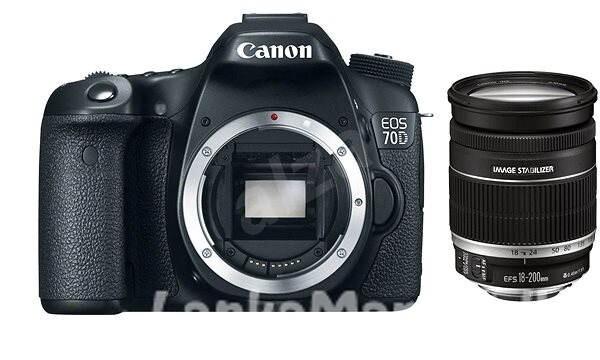 canon 70D + 18-200 Lens