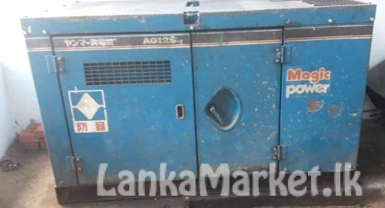 Yanmar generator 12KVA