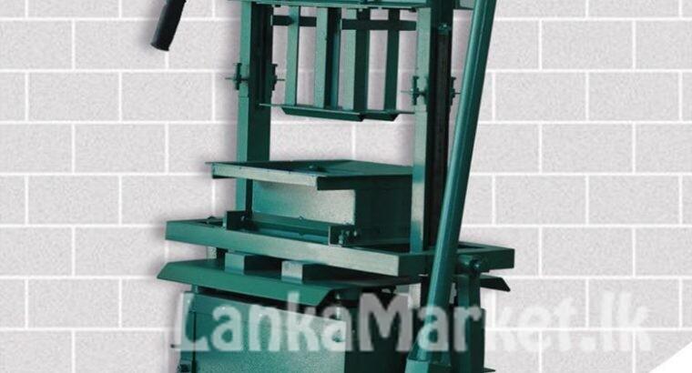 Block Gal machine (ස්පෙක්ට්රා බ්ලොක් ගල් නිෂ්පාදන යන්ත්රය)