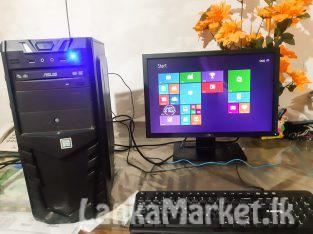 I3 Computer and Dell Monitor
