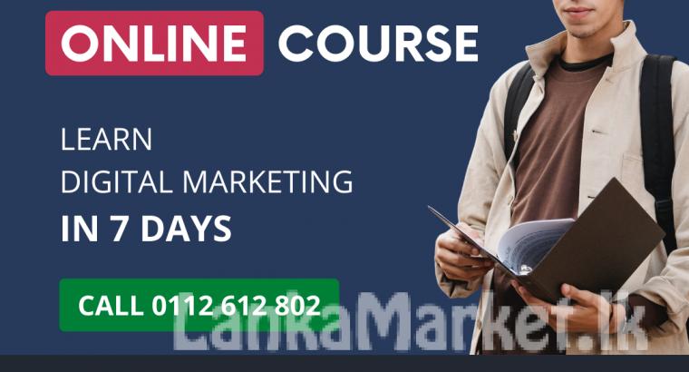 7-day Digital Marketing Course