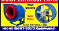 Duct exhaust fan srilanka, exhaust blowers srilanka, barrel type fans