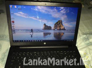 HP i3 7th GEN laptop