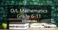 O/L Maths Sinhala medium
