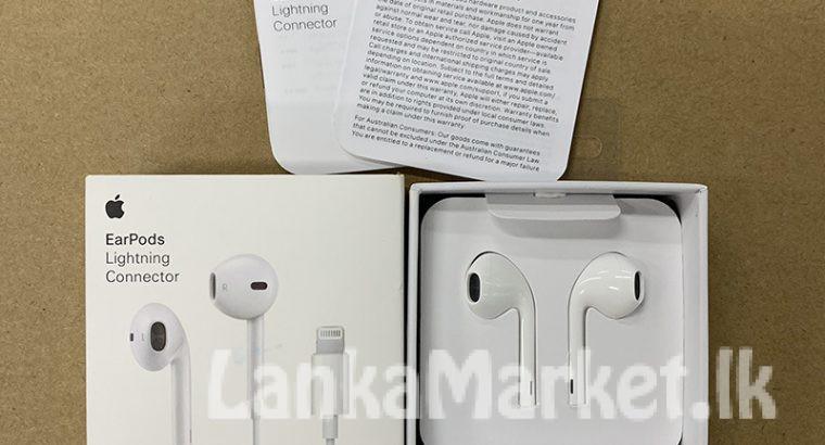 Iphone original lighting earphones
