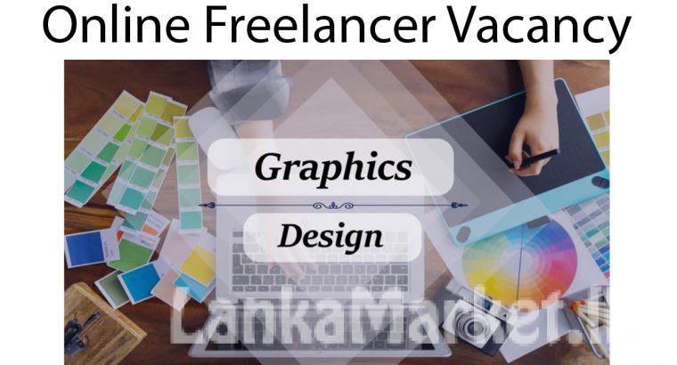 Online Job – Graphic designer ( Female )