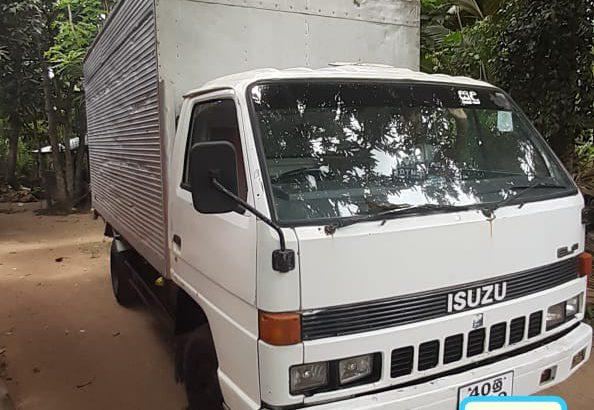 Isuzu ELF OPEN Registered (Used) Lorry