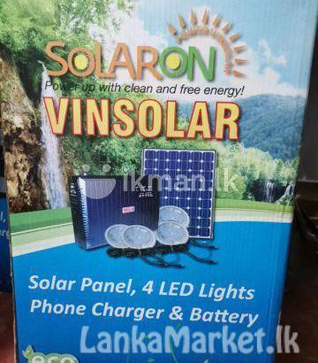 New solar panel