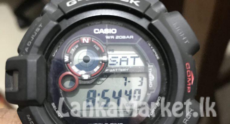 G Shock Black Watch