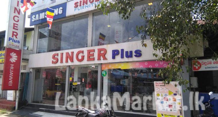 සිංගර් ප්ලස් | Singer Plus Showroom for sale