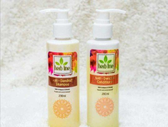 Anti Dandruff Shampoo And Conditioner