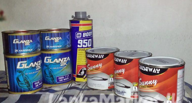 වාහන තින්ත ආශ්රිත නිෂ්පාදන වර්ග | auto paint related products