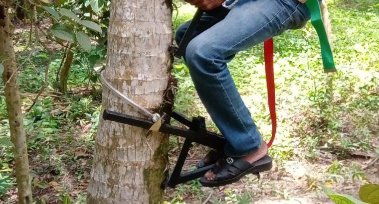 මහන්සියක් නැතුවම පොල් ගස් නැගීමේ යන්ත්රය – coconut climbing machine ලංකාවෙ දැනට අඩුම මිලට